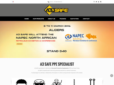 A3 Safe - Site E-Commerce - Prestashop