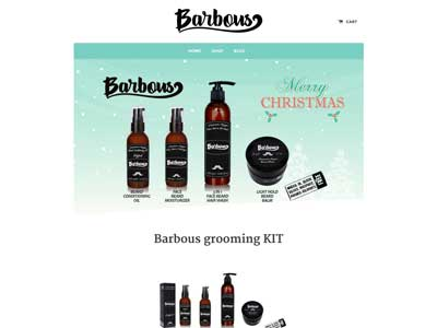 Barbous - Site E-Commerce - Shopify