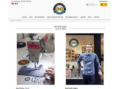 Le Colonel Moutarde - Site E-Commerce - Prestashop