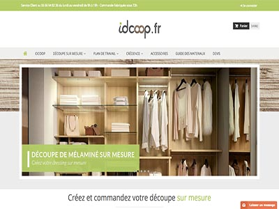 Idcoop - Site E-Commerce - Prestashop