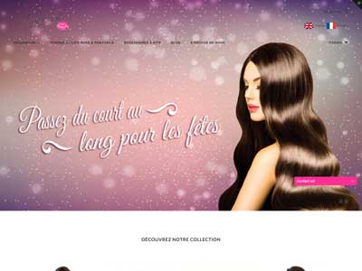 Jennyfhair - Site E-Commerce - Shopify