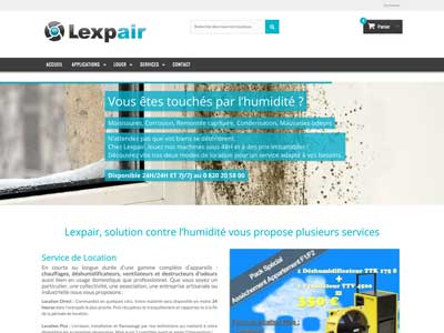 Lexpair - Site E-Commerce - Prestashop