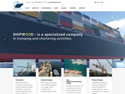 Shipwood - Site Vitrine - WordPress