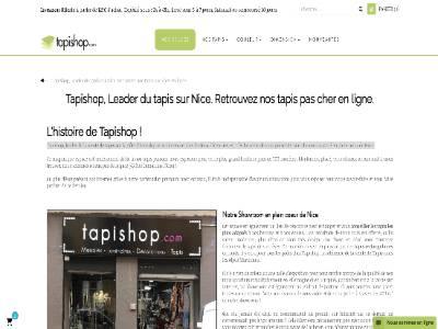 E-Commerce - Tapishop