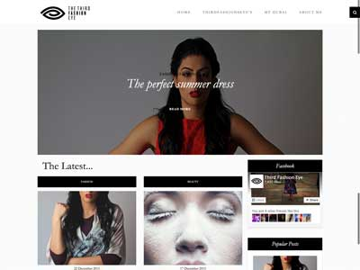 Third Fashion Eye - Site Vitrine - WordPress